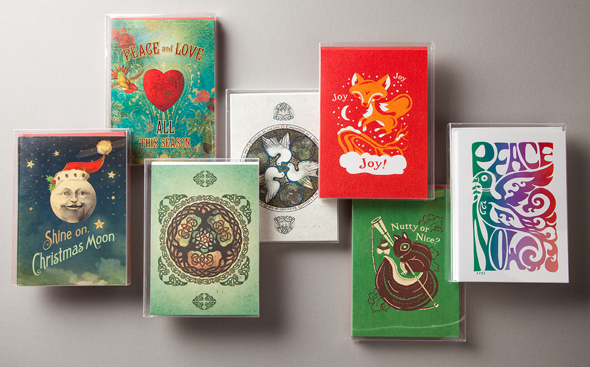 new amber lotus holiday cards amber lotus publishing - Boxed Holiday Cards